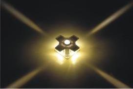 LED十字星光灯