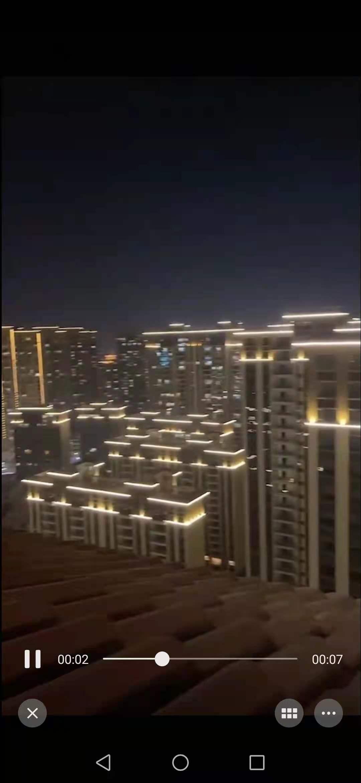 赣州市南康碧桂园正荣天麓项目夜景照明工程  日期2021.3.22